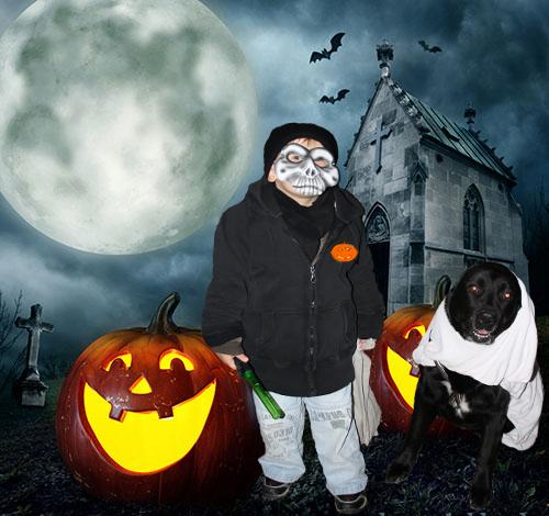 Halloween-Hund