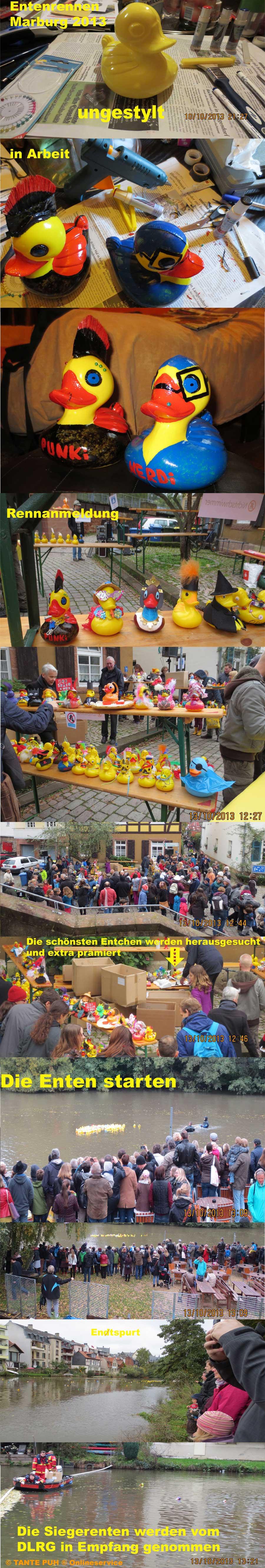 Entenrennen Weidenhausen Marburg Lahn Hessen