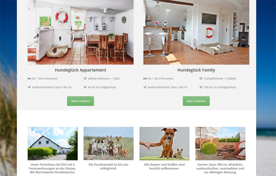 Ferienwohnungen mit mehreren Hunden Ferienwohnung Hundeglück - Urlaub mit Hund und Kind